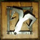 Znamení beran - ručně kovaný obrázek - značkové zboží